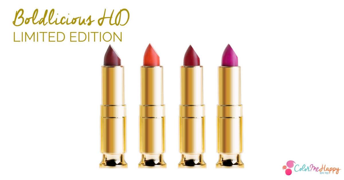 ColorMeHappy Cosmetics Boldlicious HD Lipsticks