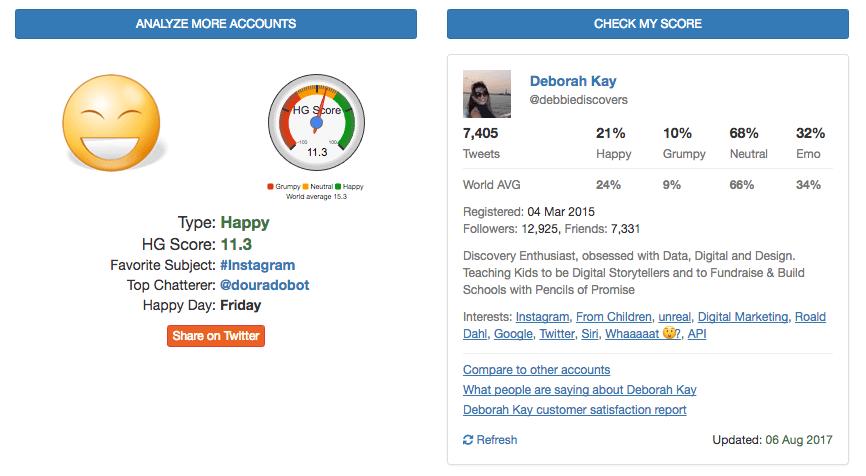 Happygrumpy Twitter app